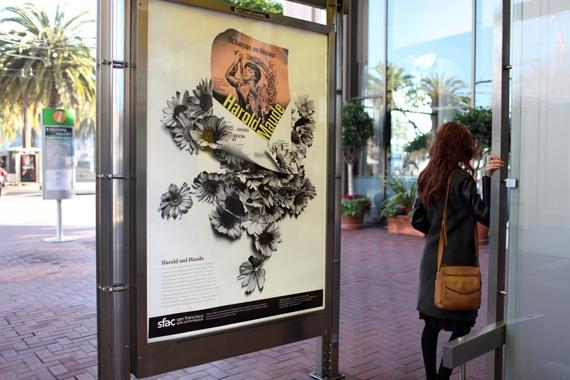 PUBLIC ART: New Art on Market Street Poster Series Celebrates S.F. in Film