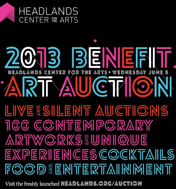 2013 Benefit Auction for the Headlands Center for the Arts